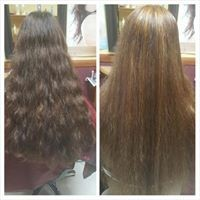 Chemical Straightening & high lift colour